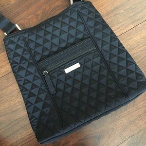 VERA BRADLEY Quilted Nylon Hipster Crossbody Bag
